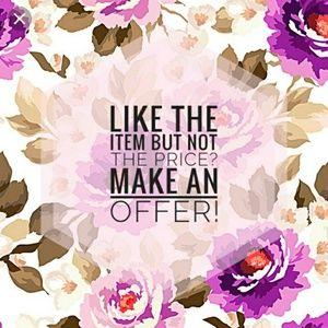 Tops - Make me an offer!